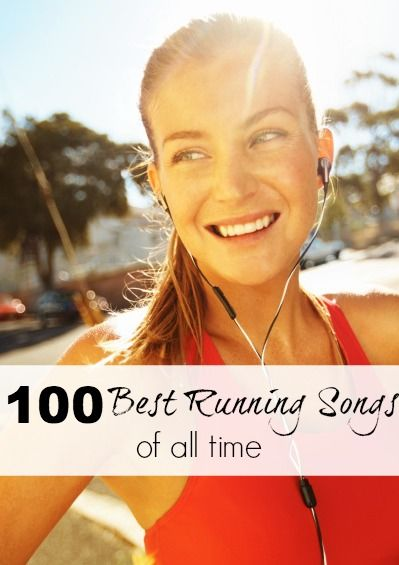 Think I'm going to make a playlist with all these songs and see if they really are the 100 best running songs of all time