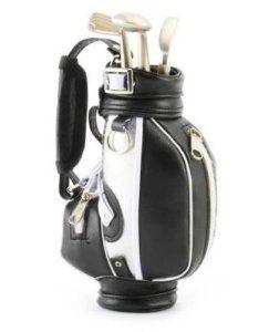 Miniature Desktop Golf Bag & 3 Golf Club Style Pens – Gift Set http://awsomegadgetsandtoysforgirlsandboys.com/mens-toys-gadgets/ Miniature Desktop Golf Bag & 3 Golf Club Style Pens – Gift Set