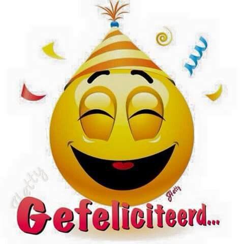 gefeliciteerd smiley Smiley Gefeliciteerd gefeliciteerd smiley