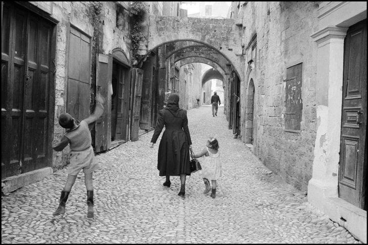 GREECE. Island of Rhodes. 1957. Rene Burri