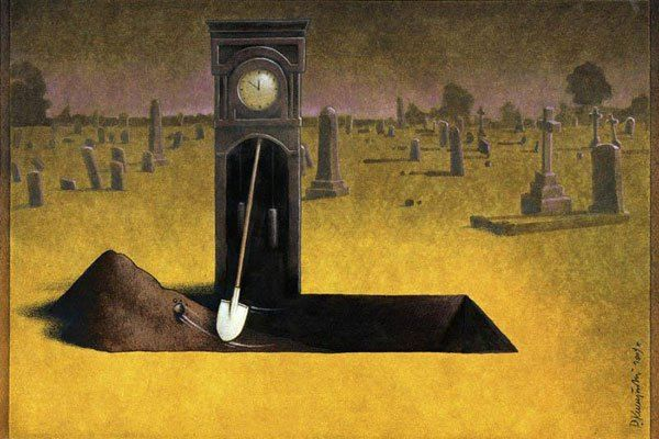 Ilustraciones de Pawel Kuczynski sobre el irónico mundo en el que vivimos