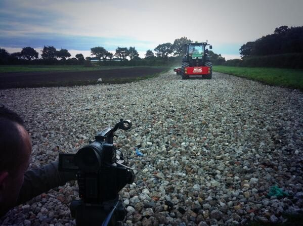 Capturing the farming machinery at work