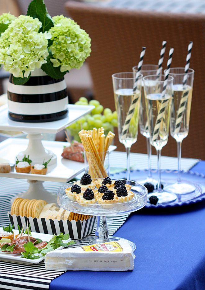 Champagne and cheese party!