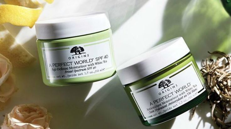 Origins Skincare : discover A Perfect World range