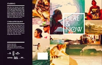 HERE & NOW  a day in the life of surfing     このフィルムはある1日を撮影したもの  012年5月2日ケリースレーターやステファニーギルモアなどのワールドチャンピオンを筆頭に、ディビットラスタやオジーライト、アレックスノストなどのフリースピリット系のサーファー、そして彼らと共にシェーパーやフォトグラファー、レジェンドからビギナー、発展途上国から先進国、そしてサーフワールドに至る全てにおいて、あるサーファーはスコアをのばし、ある者は小波さえもつかめない。サーフィンという全てのシーンがこのタイトルに含まれています。    コンテストからキャンプにいたるまで、家の中でまどろんでいるシーンから出発のシーンをTaylor Steeleが叙事詩的に引き出している。    彼がその日、世界中で今まさに最高のスポットは今ここであることを証明する。  ■HEAR & NOW  品番:V798D  価格(税込み):4935yen
