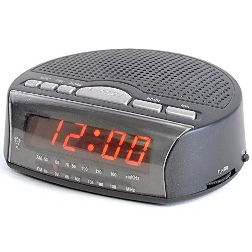 LLOYTRON  J2006BK Daybreak Alarm Clock Radio AM/FM wavebands Time format: 24 hours 0.6 red LED display Snooze and sleep functions Wake to alarm or radio LED Alarm indicator Radio tuning display Mains operation wit (Barcode EAN = 5052337010103) http://www.comparestoreprices.co.uk/december-2016-3/lloytron-j2006bk-daybreak-alarm-clock-radio.asp