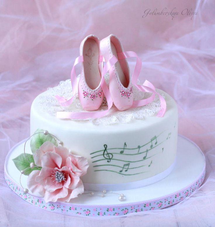 Ballet Cake by Golumbevskaya Olesya