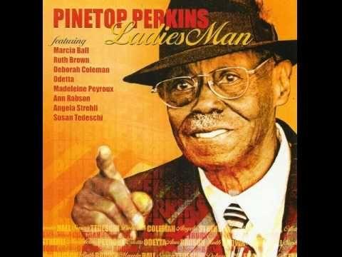 """The legendary Pinetop Perkins & Madeleine Peyroux - """"He's Got Me Goin.'"""