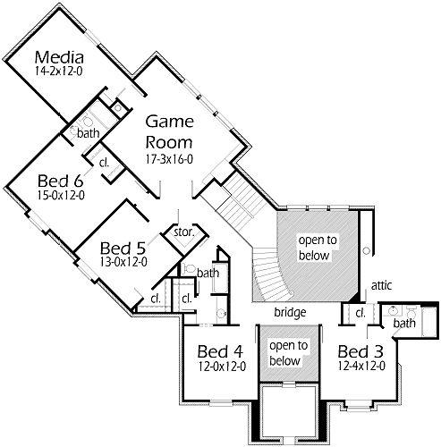 cul de sac lot home house plans pinterest house