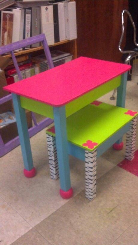 Diy Kids Desk Diy Furniture Pinterest Diy And Crafts