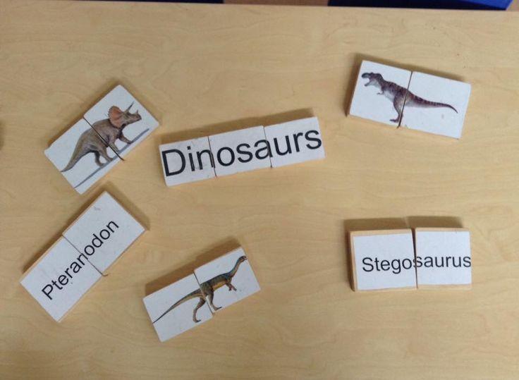 Dinosaur puzzles DIY