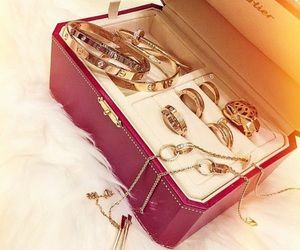 The complete Cartier Love collection.
