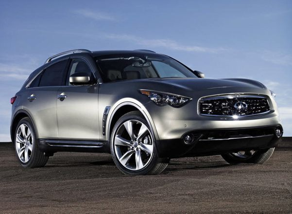 Infiniti FX 45 - mine was black, all wheel drive. Nice vehicle but a little more than I needed.