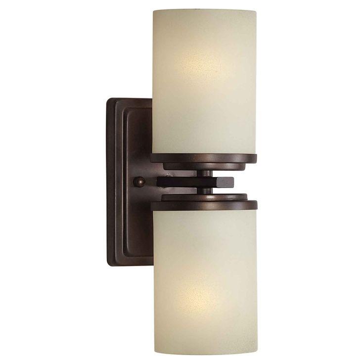 Forte Lighting 2424 02 2 Light Indoor Bracket Wall Sconce At ATG Stores