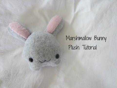 Marshmallow Bunny Plush Tutorial