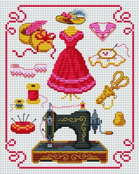 If you love to do counted cross stitch, this site has free patterns to download. Love to cross stitch
