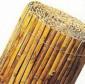 Sichtschutzmatten Bambusmatten Sichtschutz Bambus Bambusmatte gespalten, für Sichtschutz und Dekoration von Garten ebenfalls geeignet für Festivals, Messe, Beach Party etc.