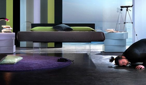 Letto air by Lago