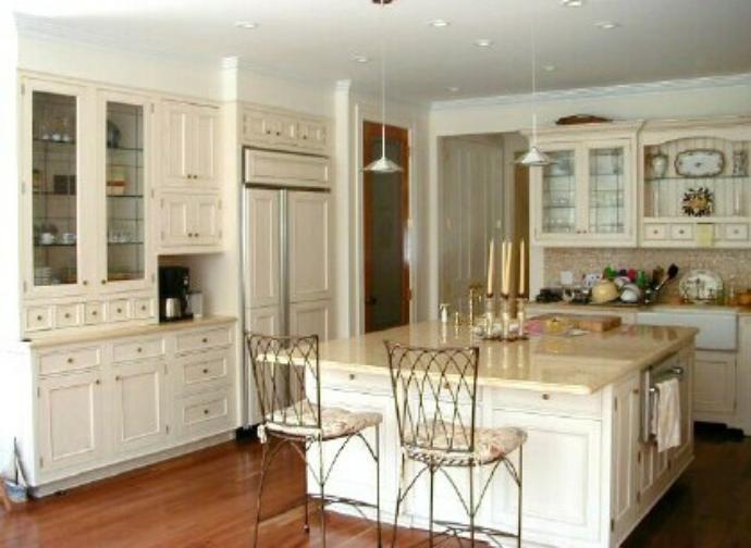 White woodmode essex kitchen house kitchen cabinets storage
