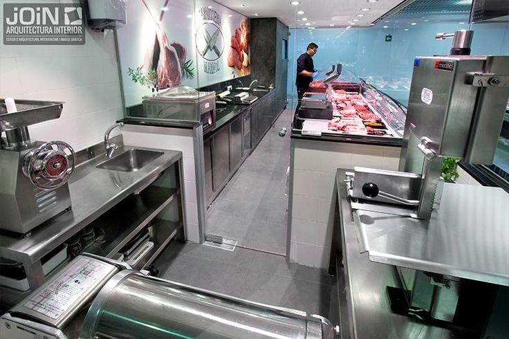 Especialistas en diseño de carnicerías e interiorismo comercial. Realizamos el diseño de tiendas según las necesidades del cliente. Carnicerías modernas.