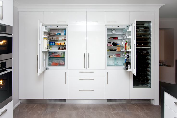 Your fridge can add to the design of your kitchen, not be something you need to design around. www.onecallkitchens.com.au
