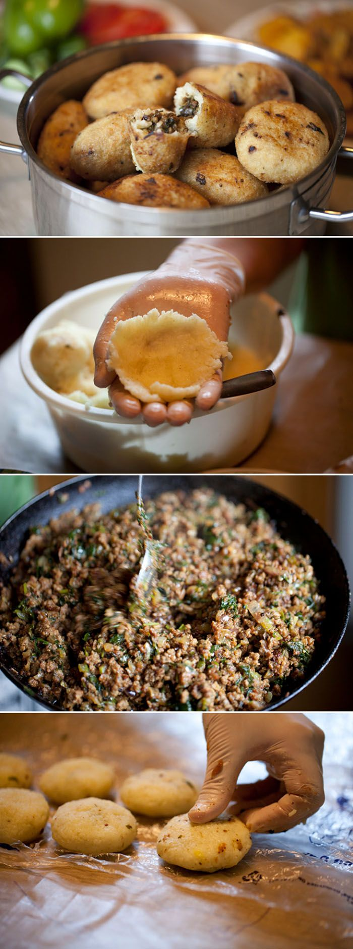 yummy ethnic street food bites for family weekend meal with salads or as an alternative take out , picnic or movie snacks Kubba | Iraqi Style Kibbeh #middleeasternfood #recipe