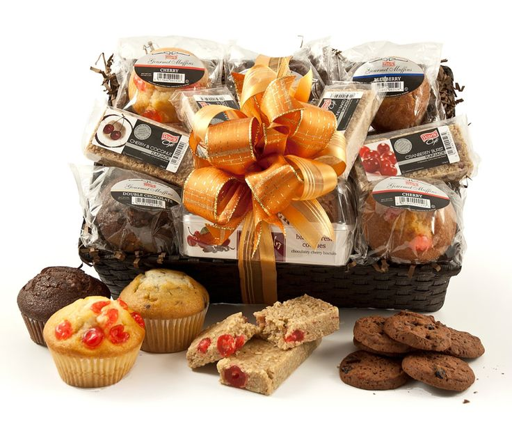56 best hampers images on pinterest hampers gift baskets and muffins cookies flapjack selection negle Choice Image