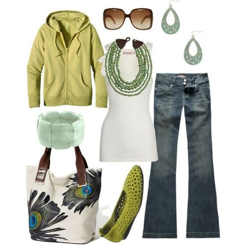 CutePeacock Feathers, Fashion, Casual Outfit, Style, Necklaces, Peacocks Colors, Shades Of Green, Peacocks Feathers, Peacocks Bags
