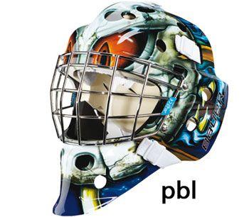 Bauer NME 3 Decal Goal Mask Bambini - Goalie Masks - HockeyOffice