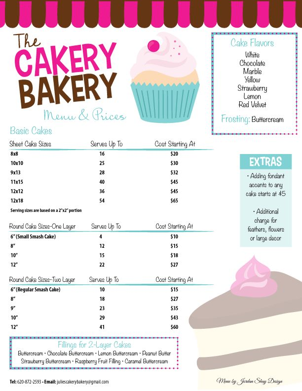 Best 25+ Bakery Menu Ideas Only On Pinterest | Cupcake Flavors