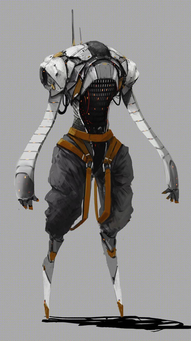 ArtStation - Burning Games Faith ( super Hacking robot ), Tyler Ryan