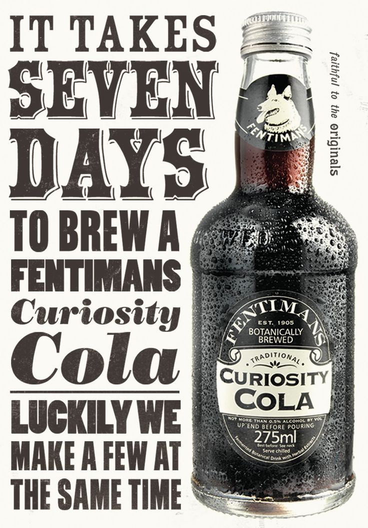 fentiman's brews - great drinks and packaging
