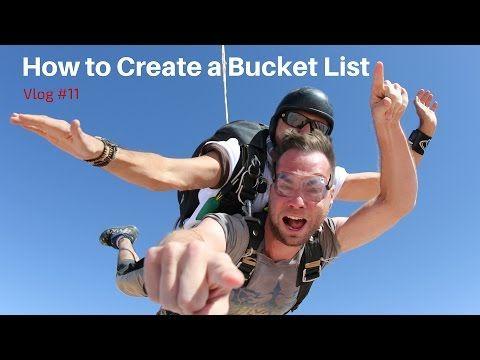 How to Create a Bucket List - YouTube