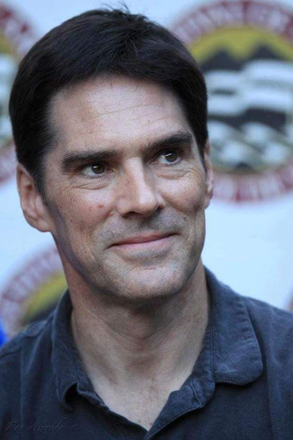 There are a few cute animals, the odd art, but It's mostly Thomas Gibson. Lovely, lovely Thomas...