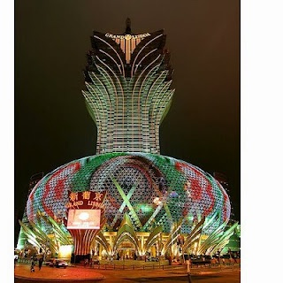 Grand Lisboa in Macau China