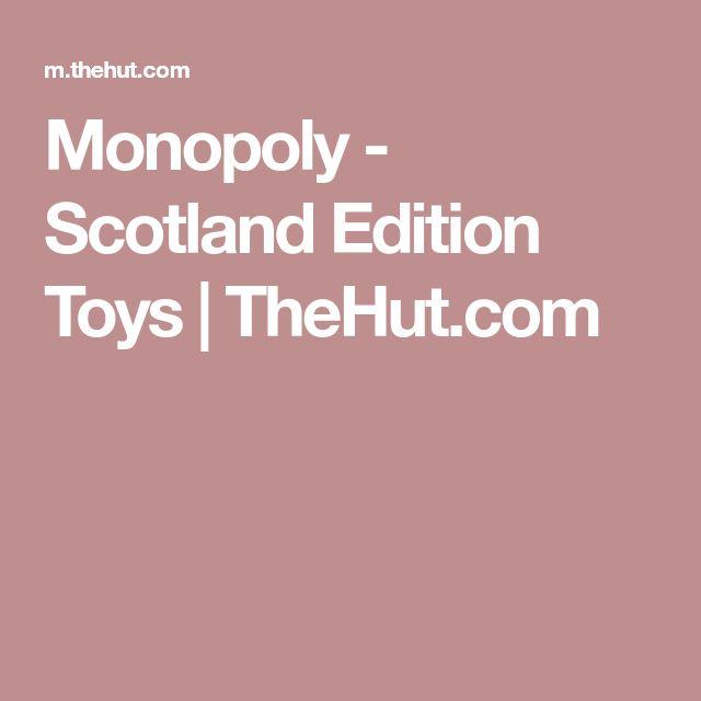Monopoly - Scotland Edition Toys   TheHut.com