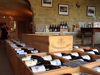 Chateauneuf du Pape - home of my favorite wines