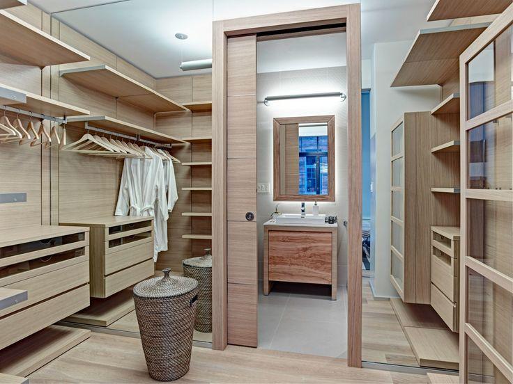 Cabina armadio padronale in residenza privata, NY | Arch. Leopoldo Rosati + Armonia Interni Srl