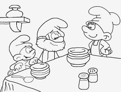 Mejores 141 imágenes de Smurfs en Pinterest | Los pitufos, Pitufos y ...