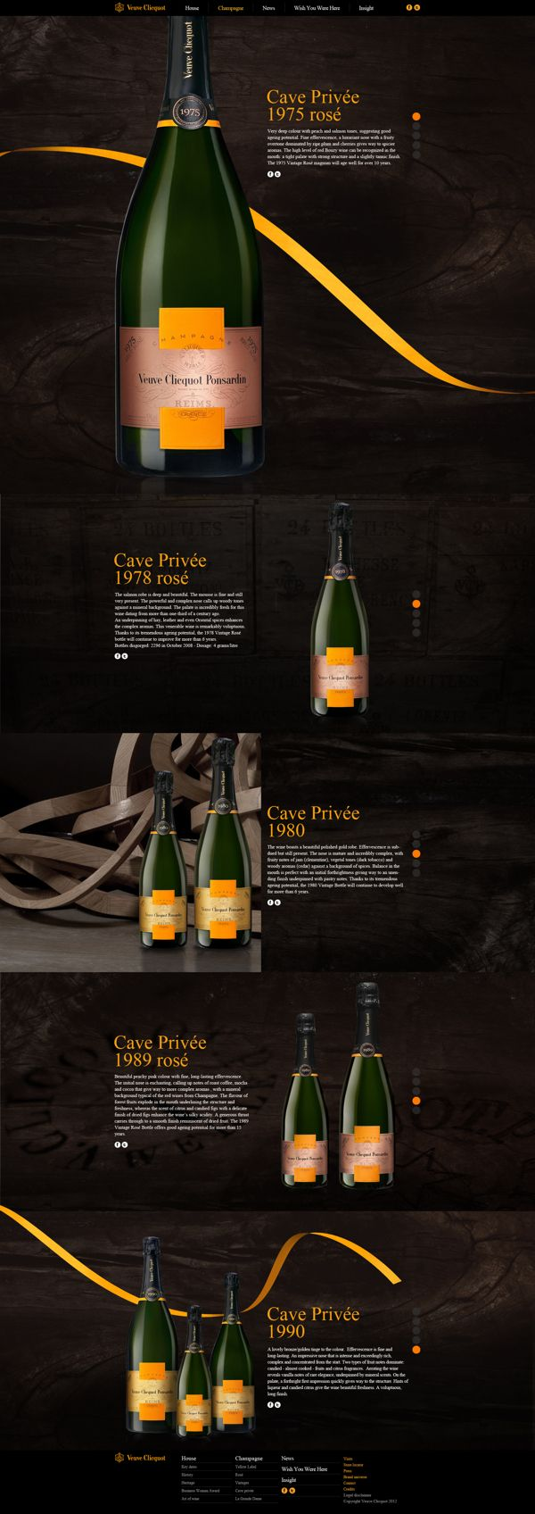 Veuve Clicquot on Behance