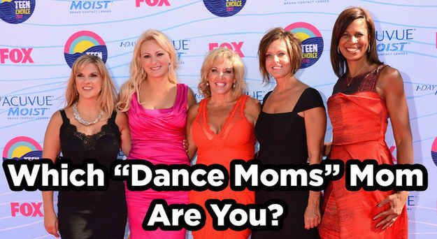 """Which """"Dance Moms"""" Mom Are You  I got holly!!"""