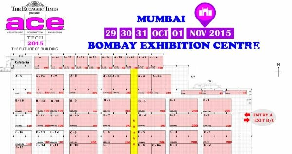 ACETECH Mumbai 2015- 29 Oct to 01 Nov 2015 at Bombay Convention And Exhibition Centre,Off Western Express Highway, Goregaon(East),Mumbai, Maharashtra, India- 400063.  #AcetechMumbai2015 #ConstructionIndustry #ebuildin