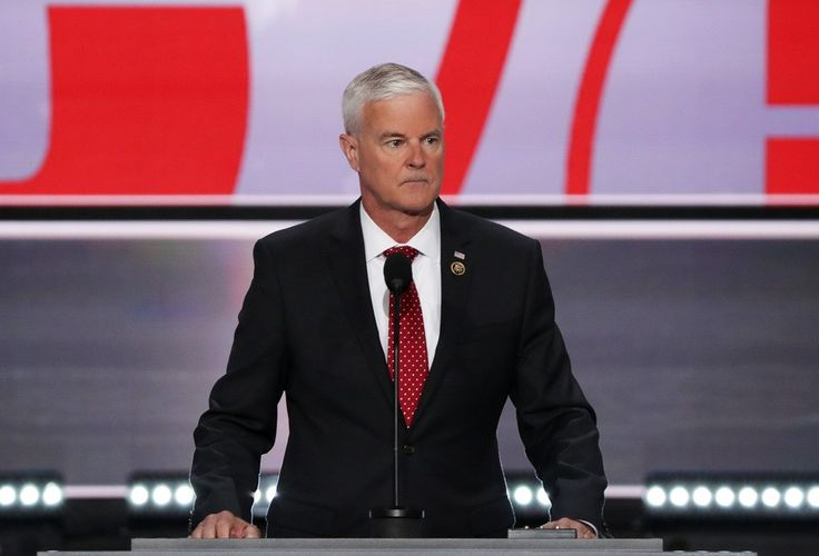 CLEVELAND, OH - JULY 18:  U.S. Rep. Steve Womack (R-AR) speaks on the first day of the Republican National Convention on July 18, 2016 at the Quicken Loans Arena in Cleveland, Ohio. An estimated 50,000 people are expected in Cleveland, including hundreds of protesters and members of the media. The four-day Republican National Convention kicks off on July 18.  (Photo by Alex Wong/Getty Images)