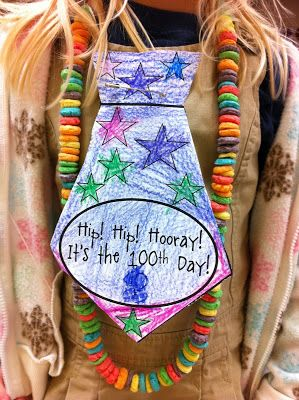 Welcome to Room 36!: 100th day of school