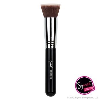 Sigma Beauty | F80 - Flat Kabuki Phyrra recommends this brush for applying liquid foundation!
