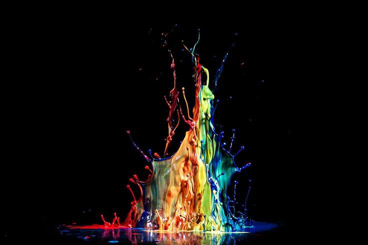 ArtColors Crowns, Liquid Sculpture, Liquid Art, Photographers Colors, Painting Colours, Colours Sculpture, Markus Reugel, Descubriendo Historia, Colors Splashes