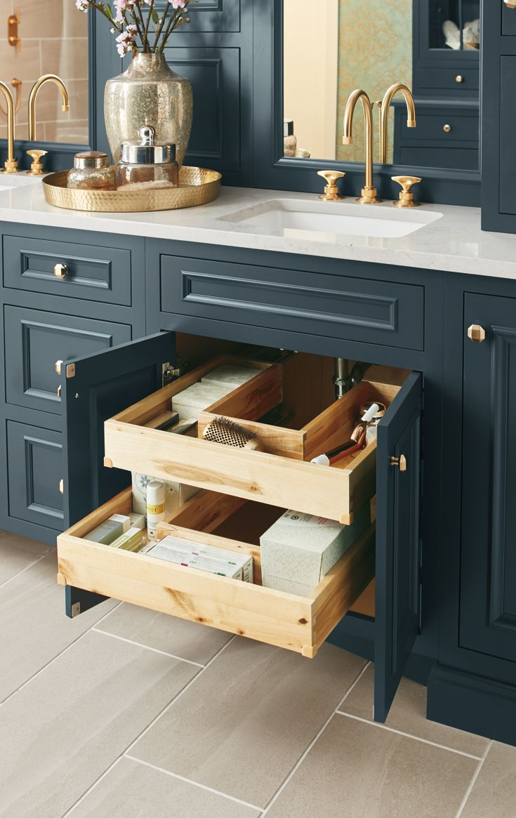 Bathroom Storage Solutions For Everyday Living Bathrooms Remodel Kitchen Remodel New Kitchen