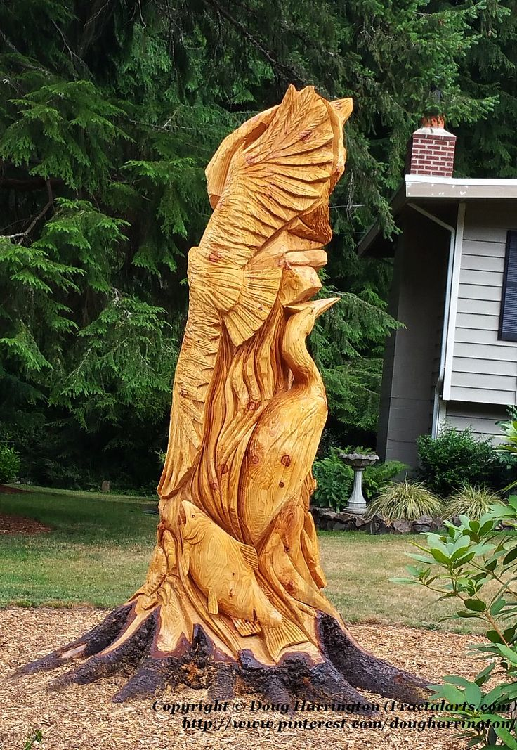 Best images about wooden eagle carvings on pinterest
