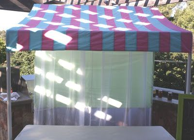 tutorial for do-it-yourself display canopy