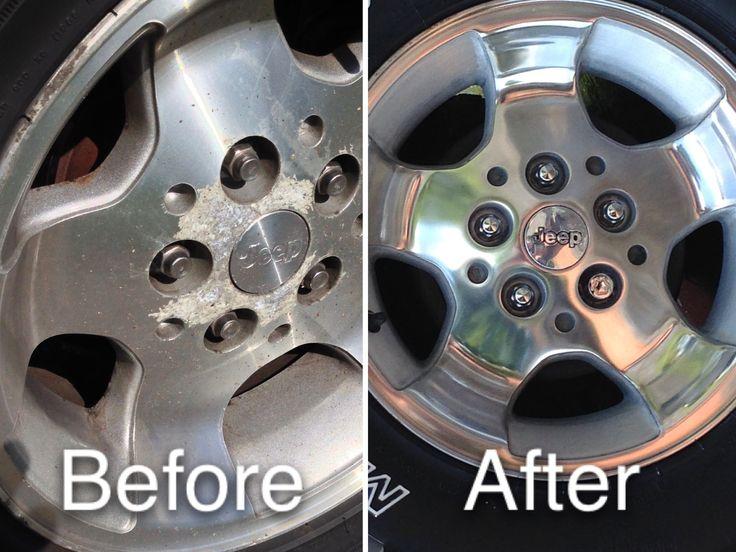 DIY Restore of Corroded Aluminum Alloy Wheels my Plant